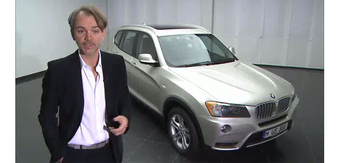 VIDEO: The Design of the BMW X3 (F25) Explained
