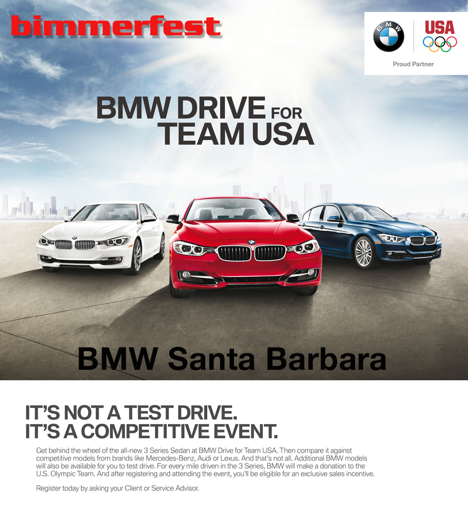 It's Back: Drive For Team USA Coming Soon To A BMW Center