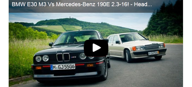 E30 M3 vs Mercedes Benz 190E - Head 2 Head