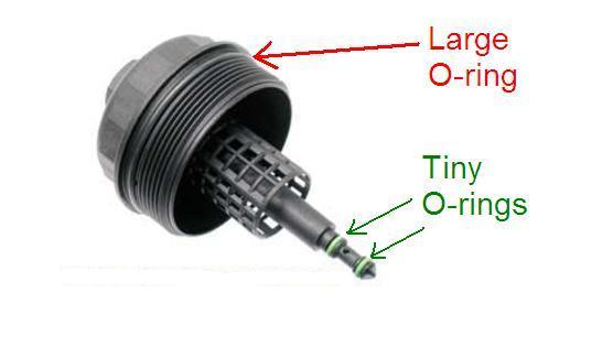 How often do you change the little o-rings on the shaft of oil ...
