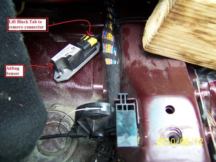 1998 Bmw 528i Replacing Driver Seat Belt Buckle Pretensioner