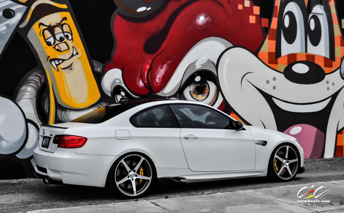 modified BMW E92 M3