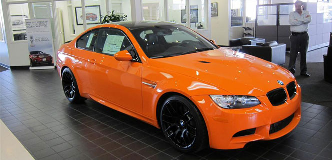 Special Color Fire Orange E92 M3 at Nick Alexander BMW