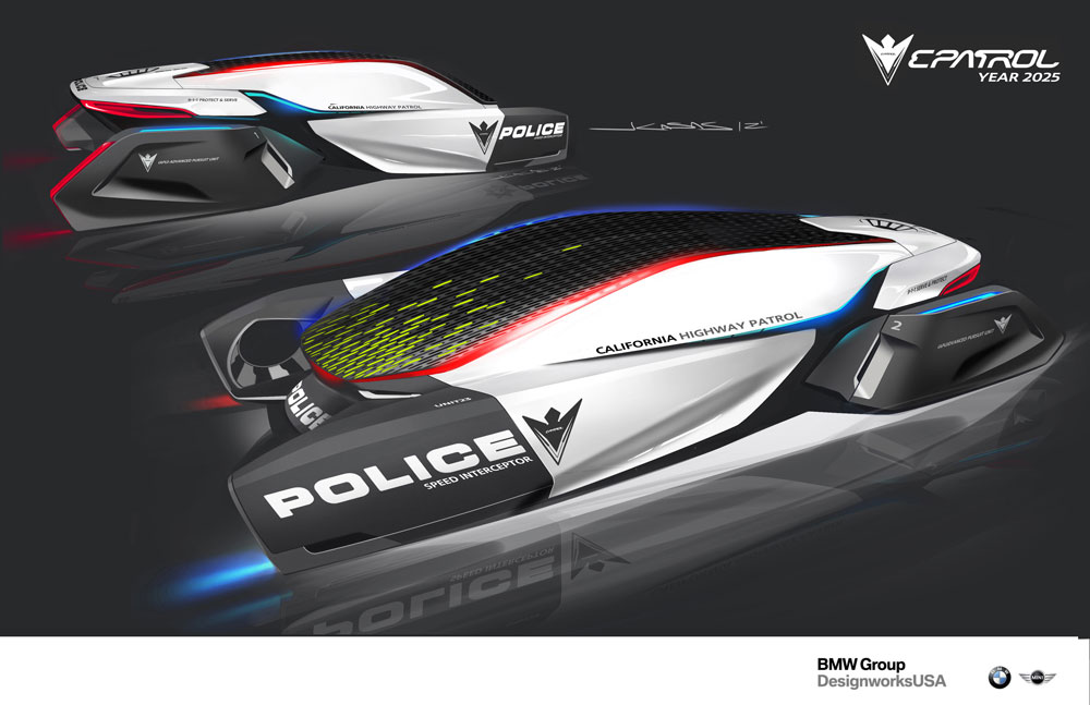 The BMW Police Car of 2025