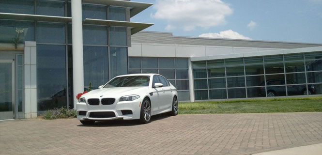 Who Wants to Drive the New BMW M5 at the Performance Delivery Center?