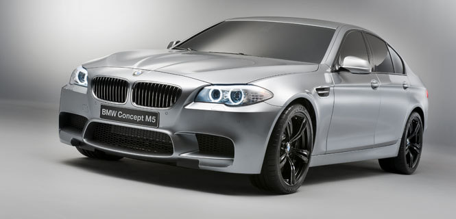 The BMW M5 Concept Finally Shows Off for the Camera