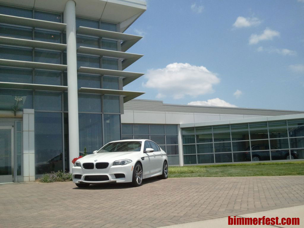 BMW Performance Delivery Center gets F10 M5s