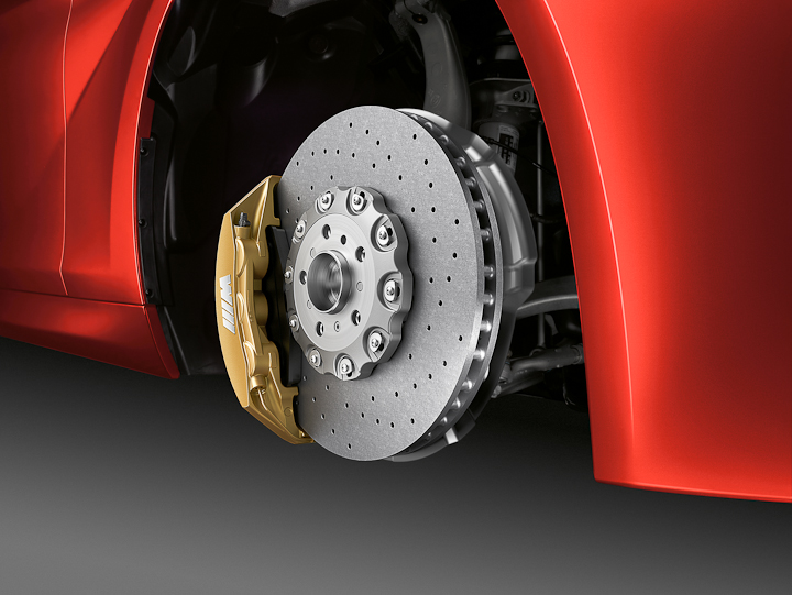 BMW M6 carbon ceramic brakes