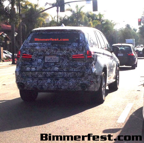 BMW F15 X5 spied testing in California