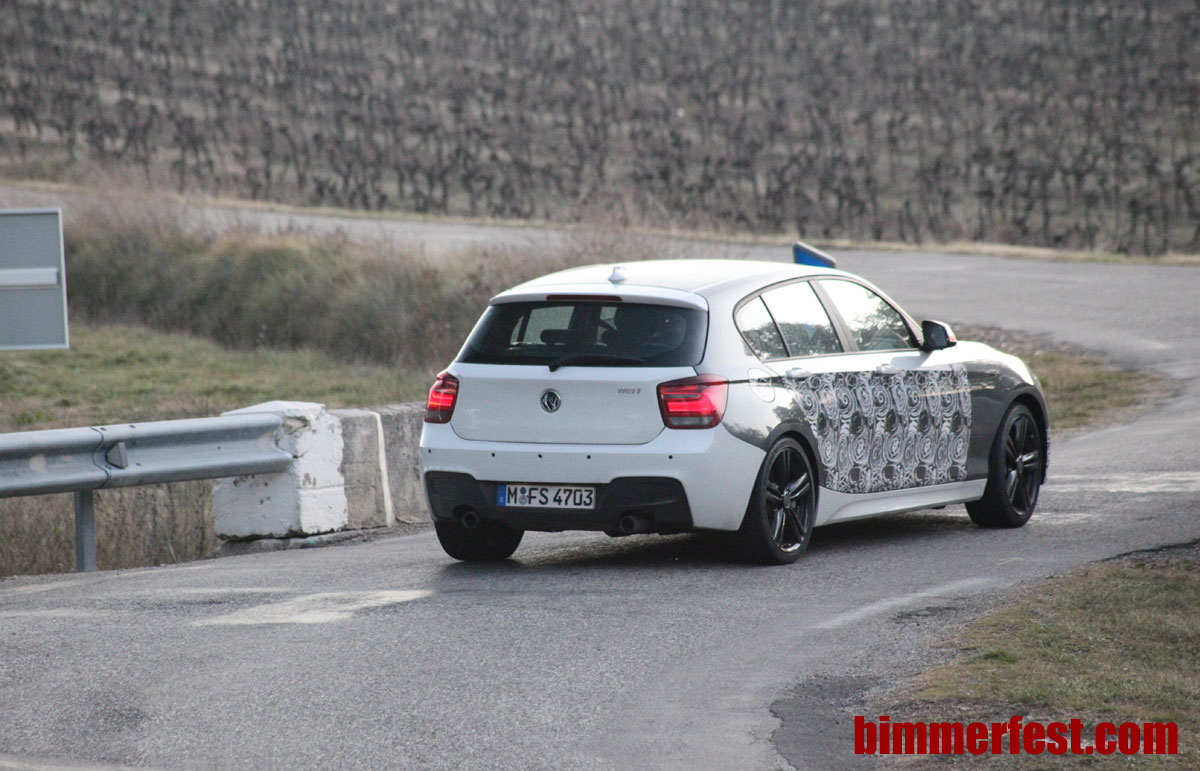 BMW M Performance Auto M135i spied