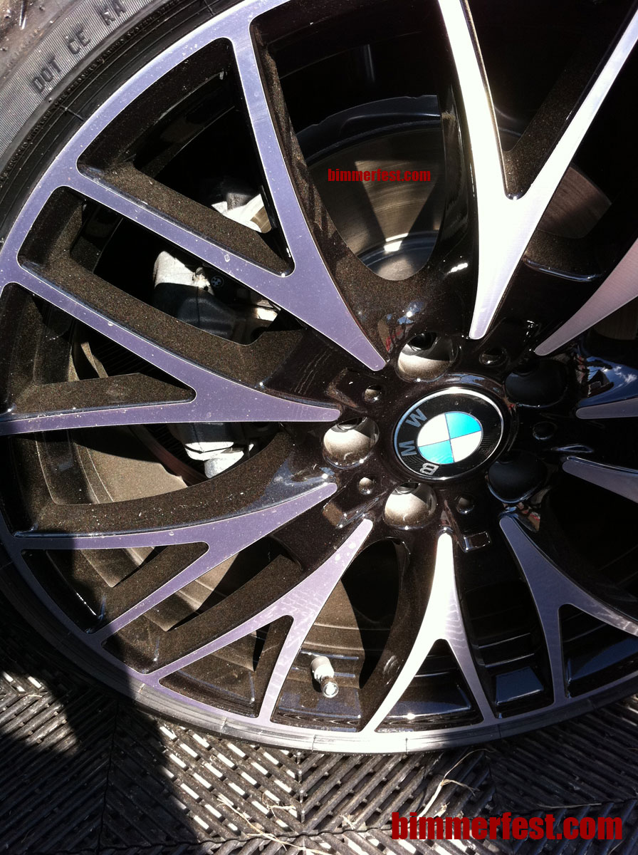 20 inch cross spoke style 404 wheels for the 2012 f30 3 series