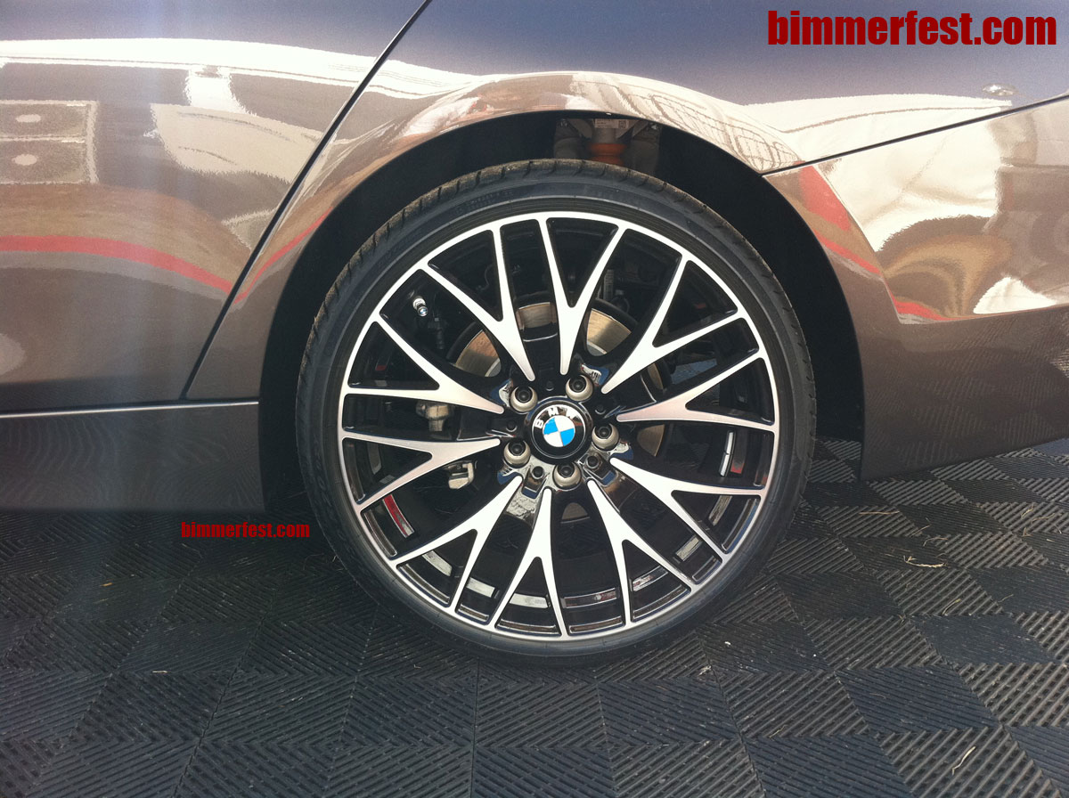 F30 3 series cross spoke style 404 20 inch wheel