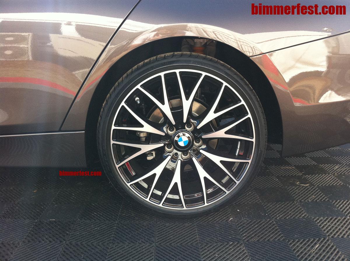 Bmw f30 3 series cross spoke style 404 wheels in 20 inch size