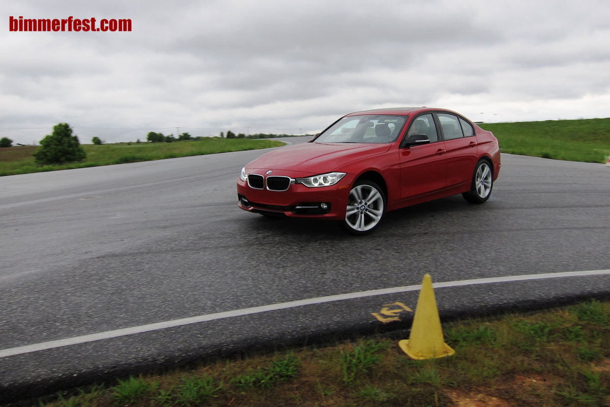 BMW F30 3 Series Sedan Performance Driving