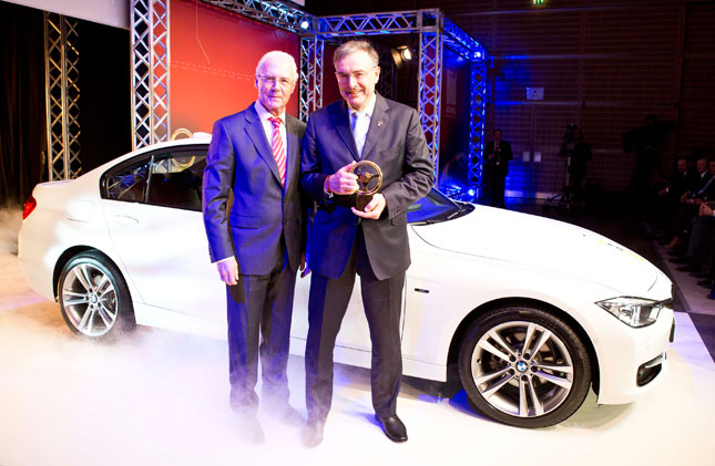 BMW F30 3 Series Wins 2012