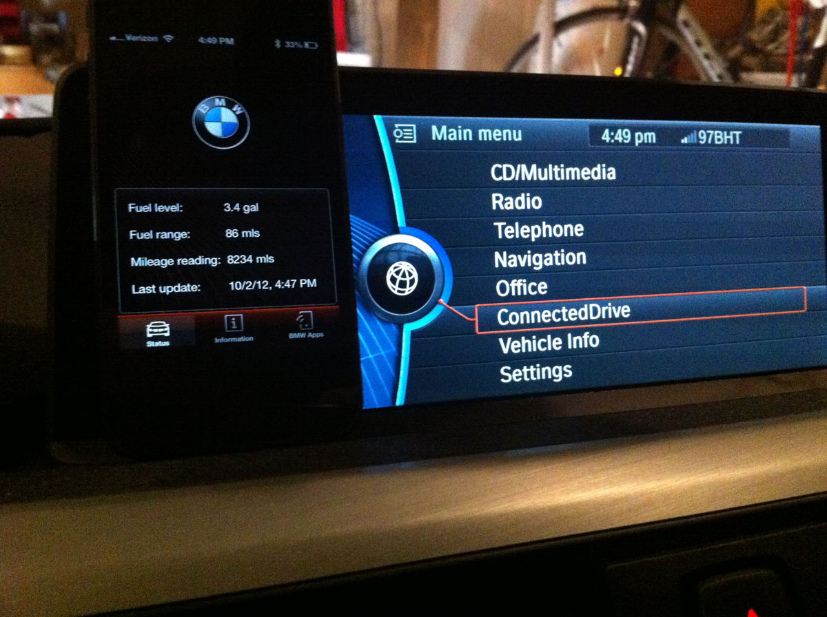 BMW ConnectedDrive with the Apple iPhone 5