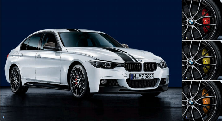 M Performance Parts Catalog for F30 BMW 3 Series