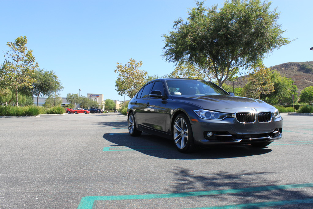 F30 BMW 3 series in Mineral Grey
