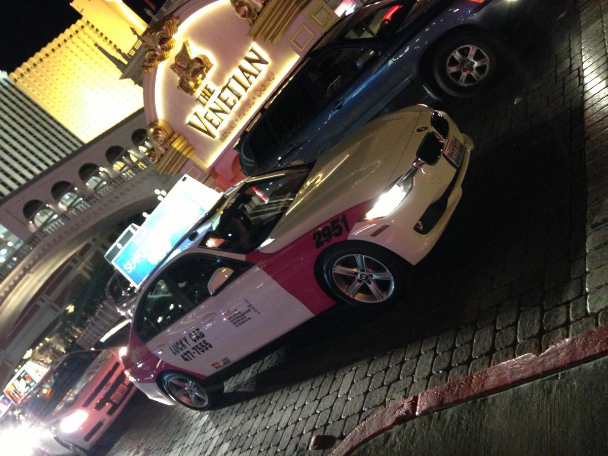 BMW F30 3 series taxi