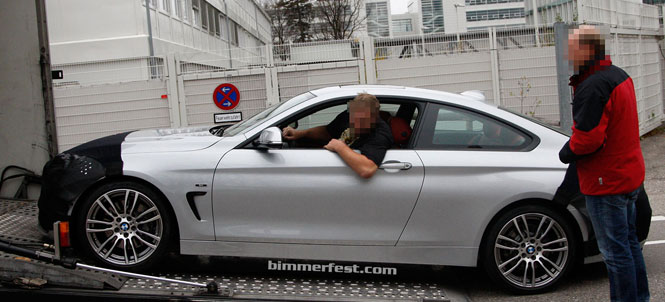 BMW 4 Series F32 Caught Exposed
