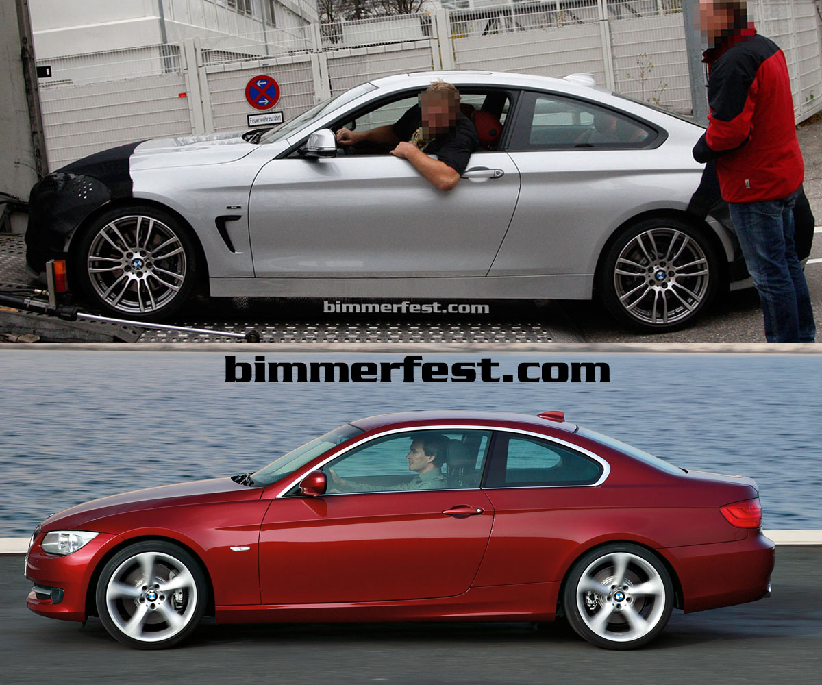 E92 3 series coupe styling verses F32 4 series coupe styling