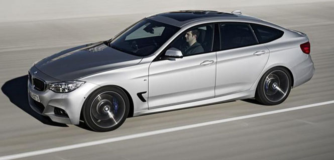 First Look at the 2014 BMW F34 3 Series Gran Turismo Edition