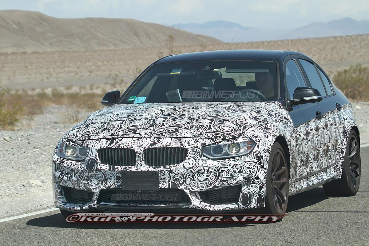 BMW F80 M3 front bumper