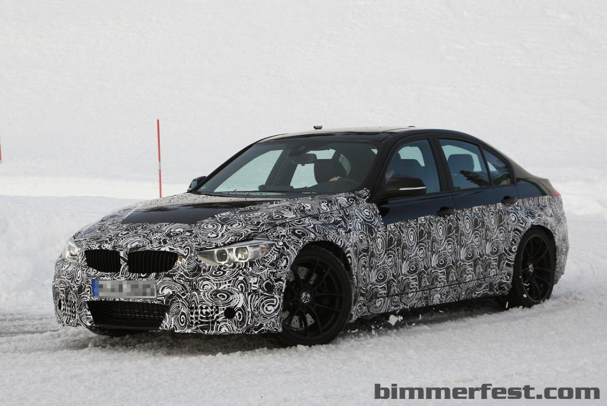 BMW M3 F30 nears production
