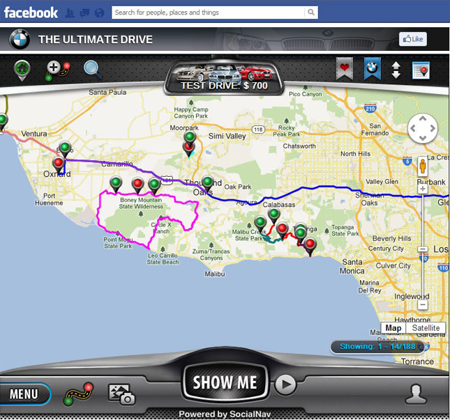 BMW The Ultimate Drive App Now on Facebook
