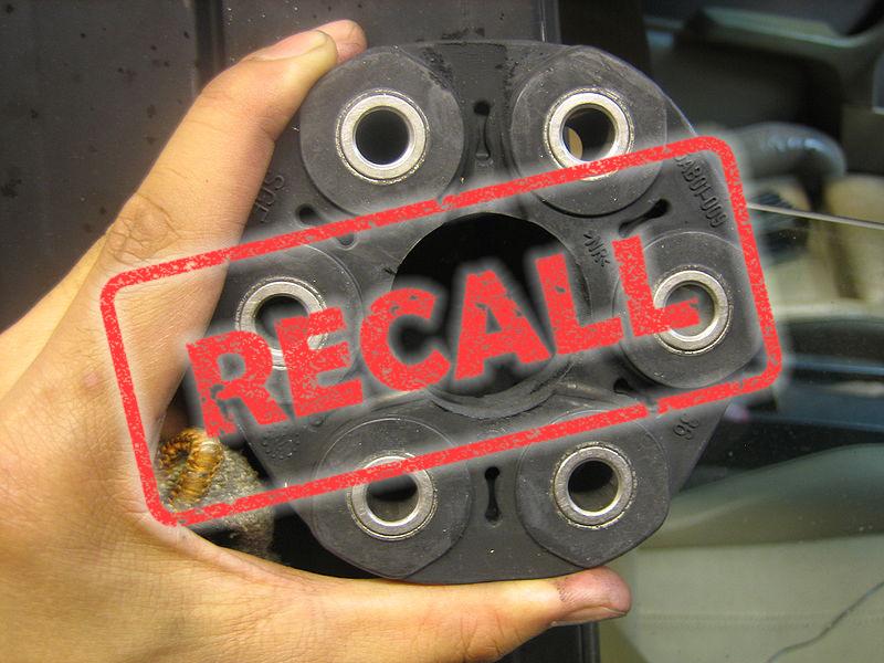 BMW driveshaft flex disk recall