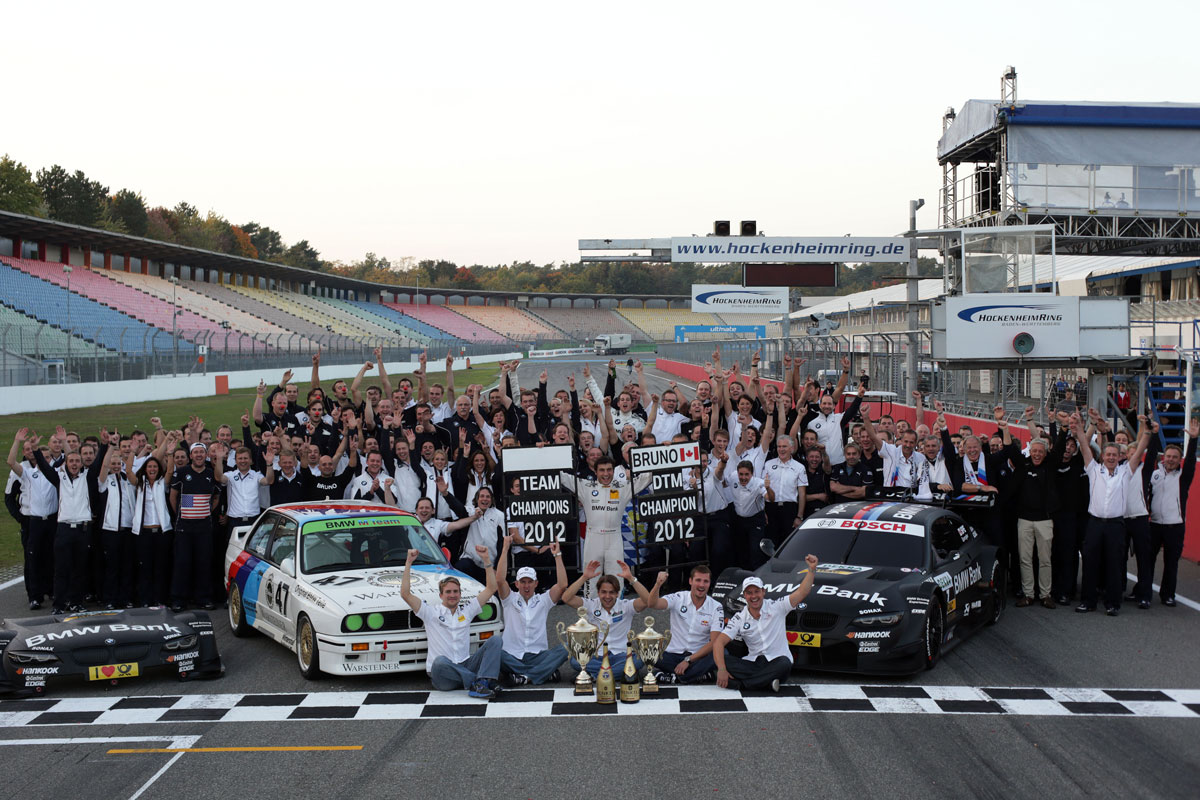 Nine seasons, 54 wins and countless highlights for the BMW DTM Team