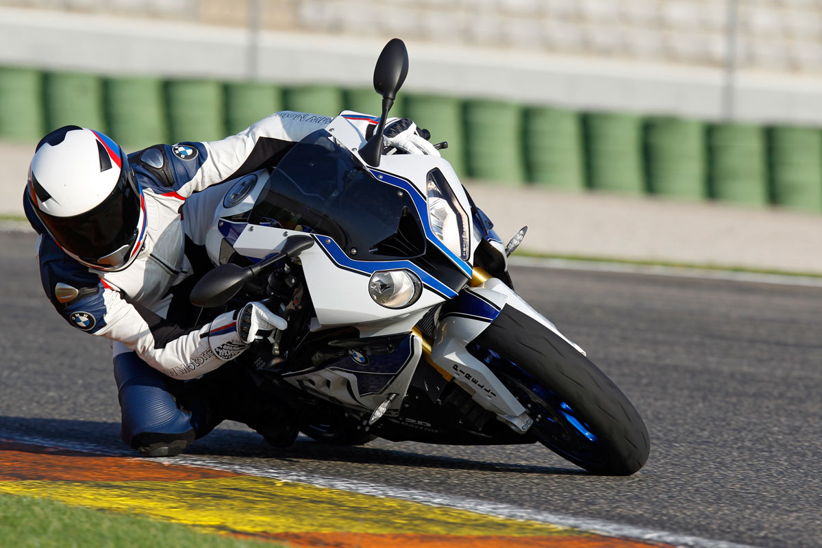 BMW HP4 high performance supersport bike