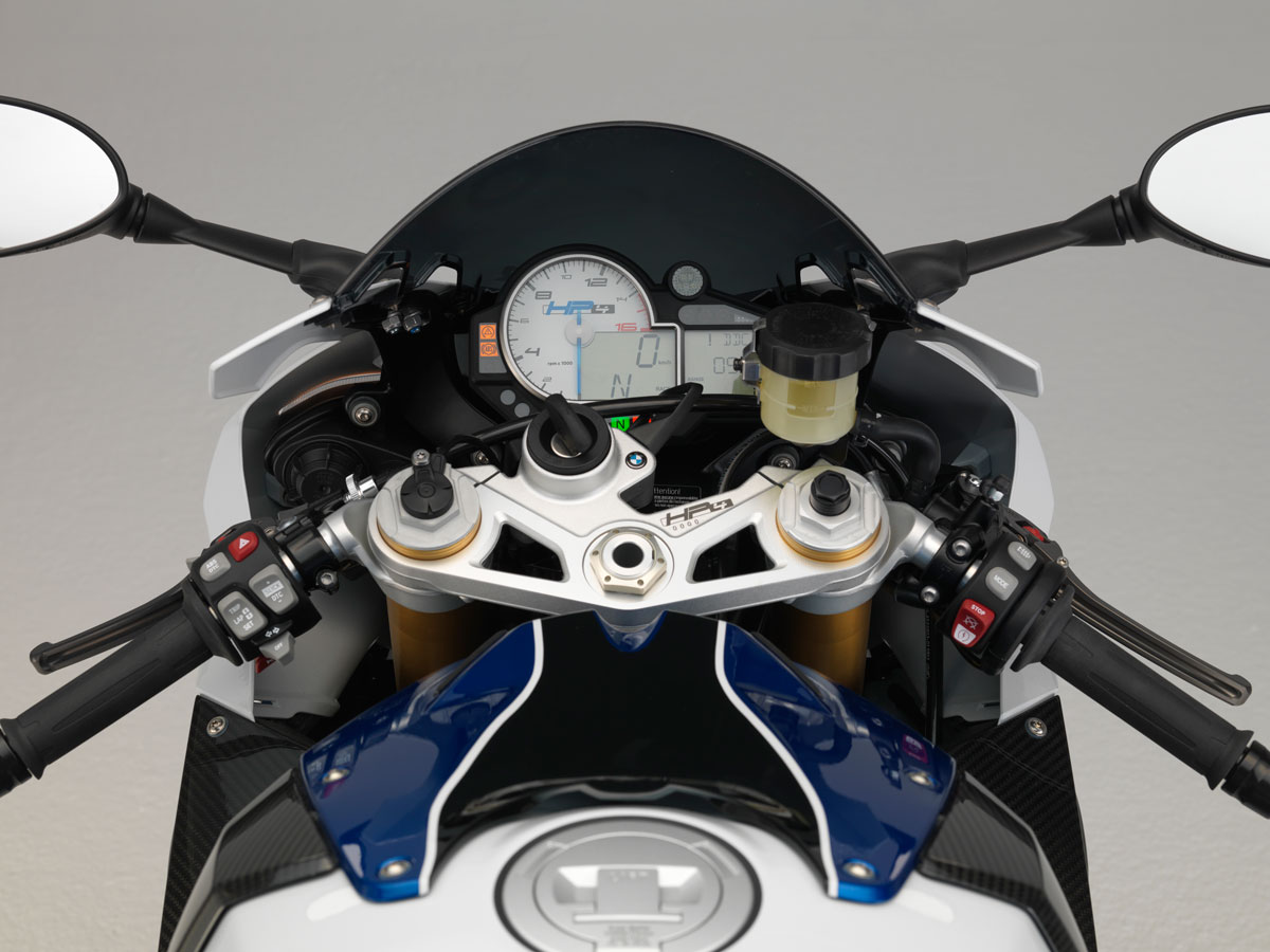 BMW HP4 light weight super bike