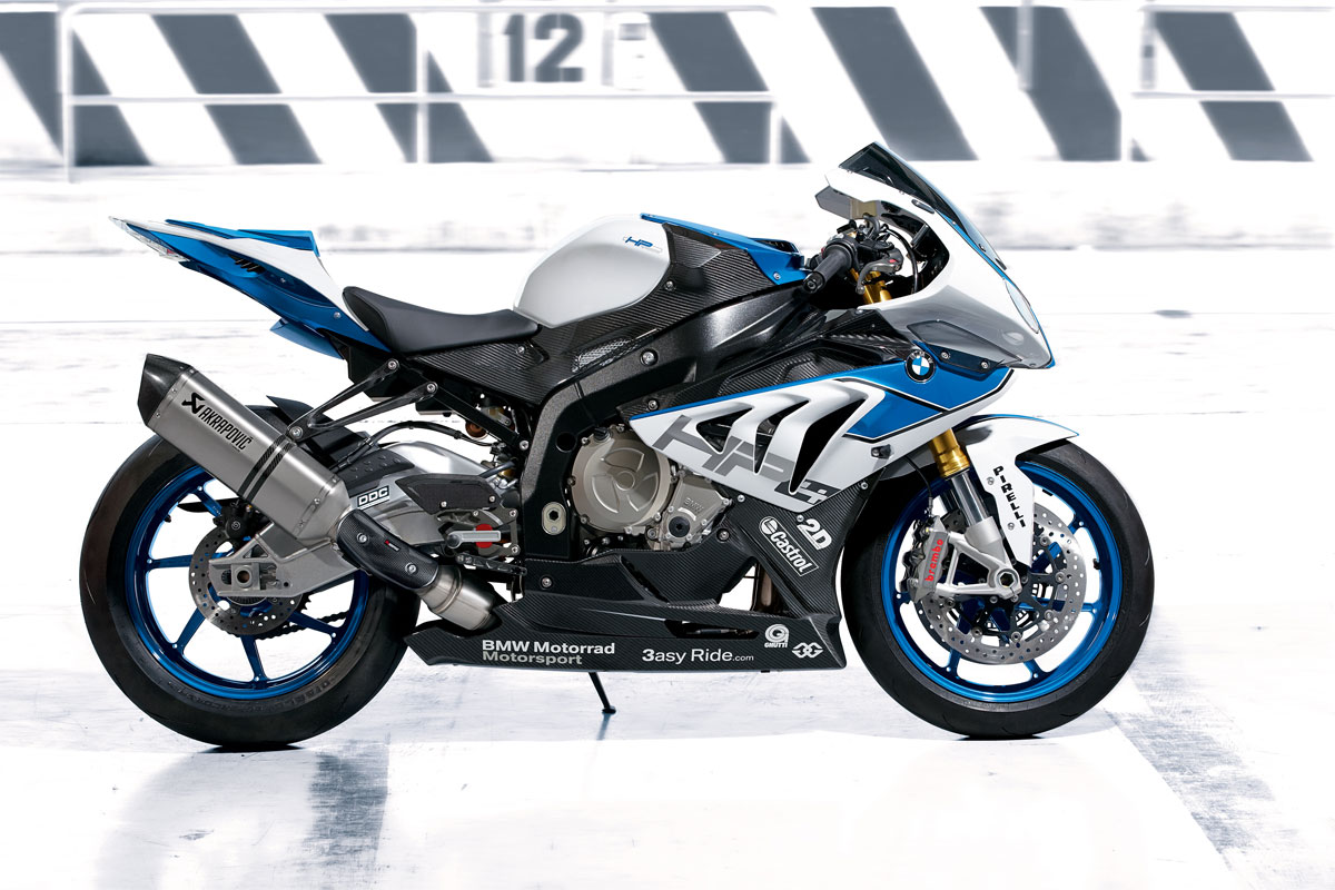 BMW S 1000 RR based HP4 super bike lightest bike in production