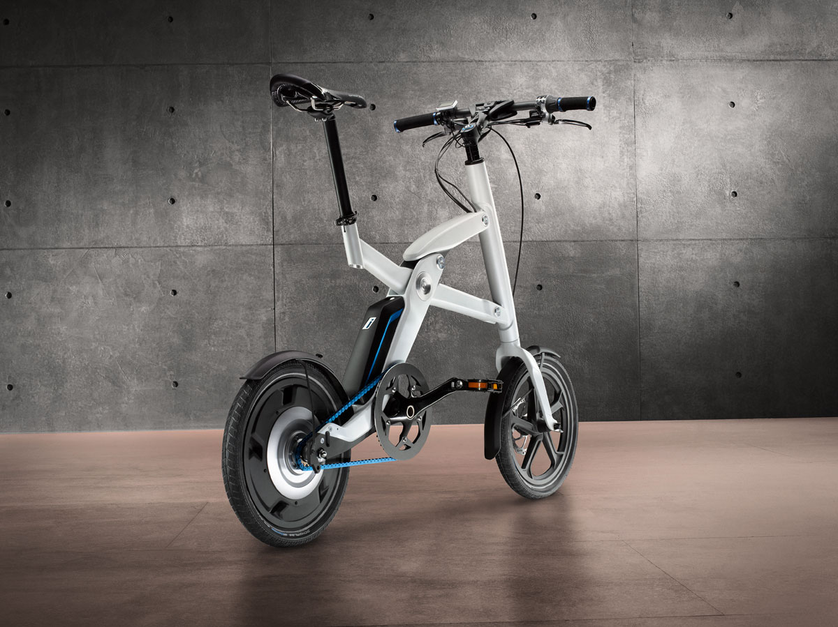 BMW i Pedelec Concept electrically-powered bicycle