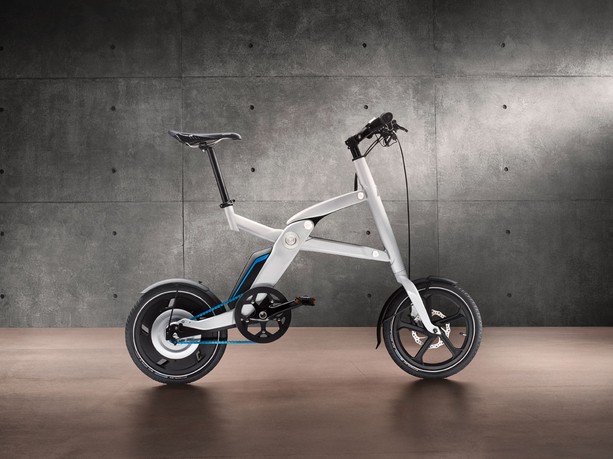 BMW i Pedelec - Pedal Electric Cycle