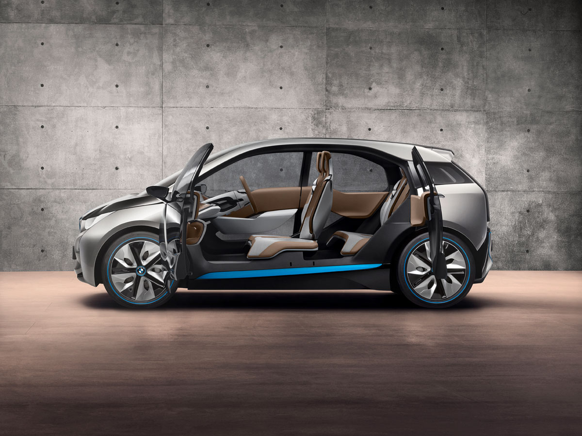 BMW i3 all electric car