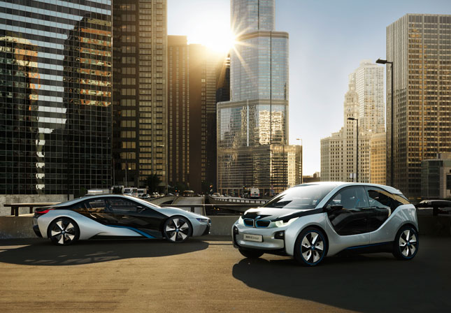 BMW i3, i8 and MINI Rocketman Win Green Design Awards