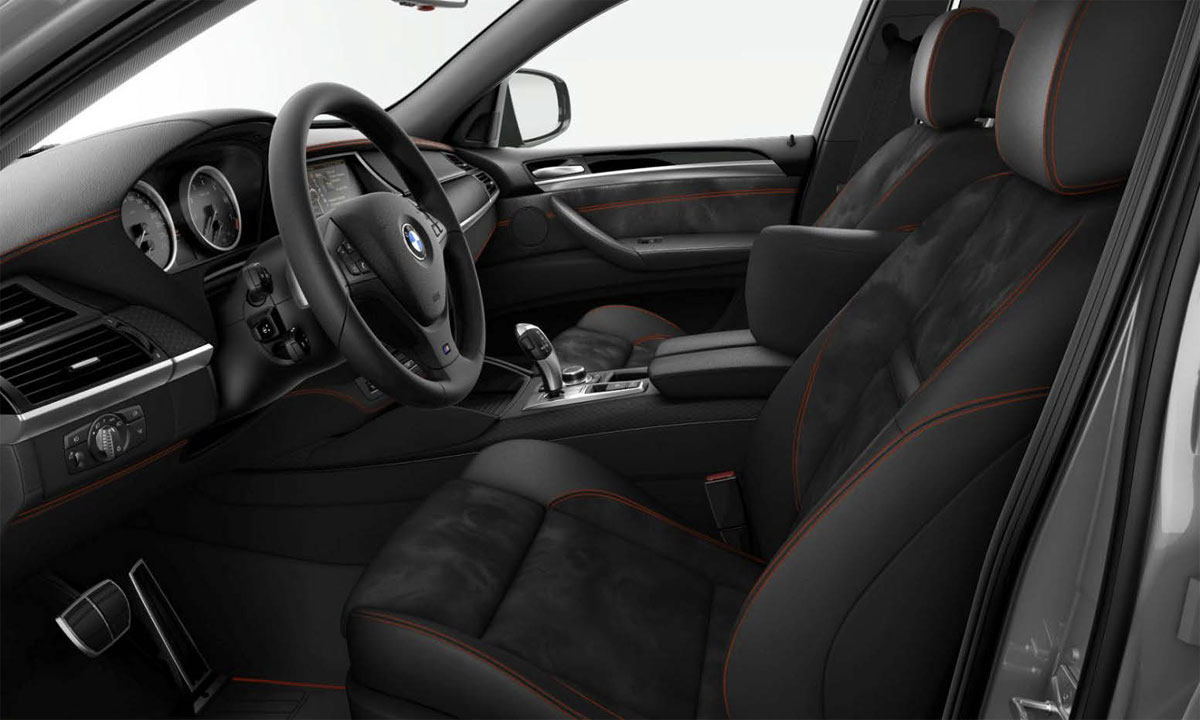 BMW Individual X6 Performance Edition Interior