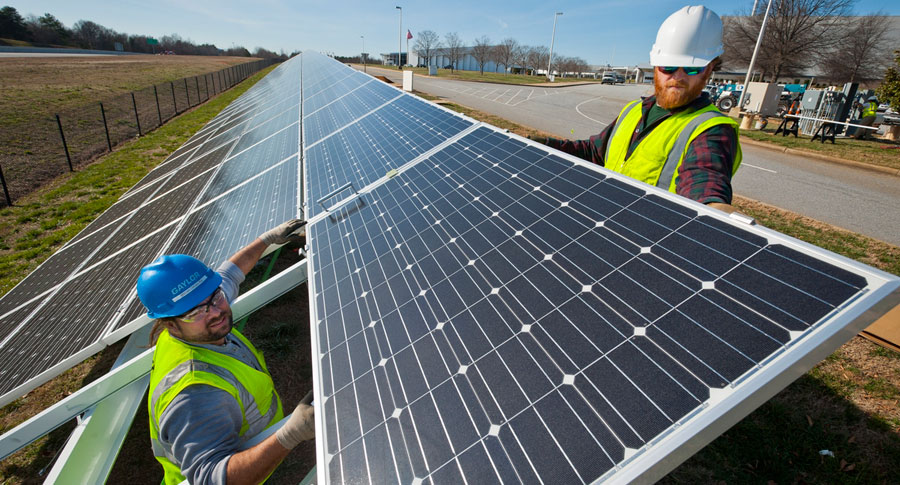 BMW adds solar power to Spartanburg factory