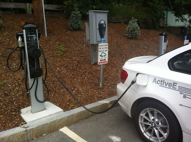 BMW invests in ChargePoint EV charging network