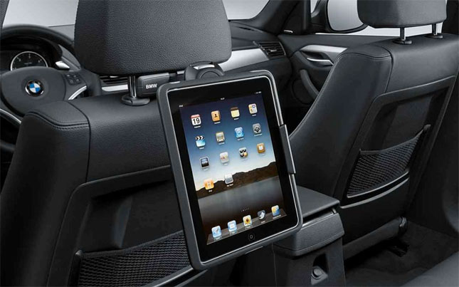 BMW iPad holder for 3rd gen iPads