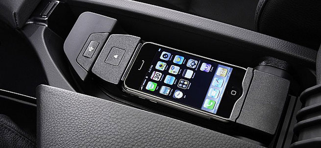 BMW iPhone 5 integration