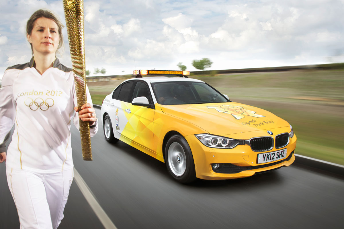 BMW provides transportation for 2012 London Olympics