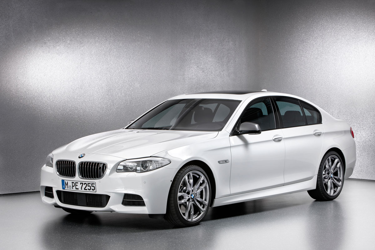 BMW M550d xDrive Sedan and Touring