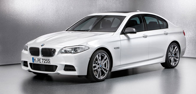 First BMW M Performance Automobiles includes two F10 variants - M550d xDrive