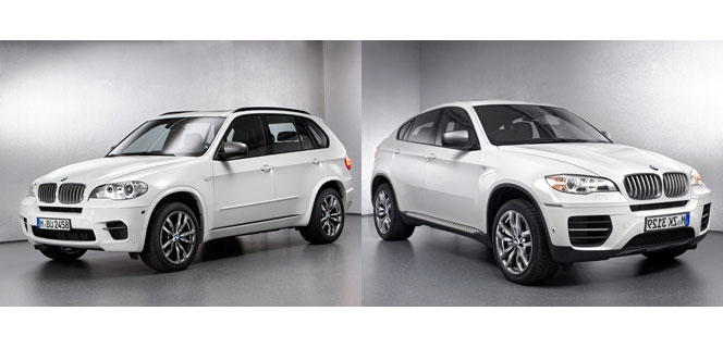 BMW M Performance Autos - X5 M50d and X6 M50d