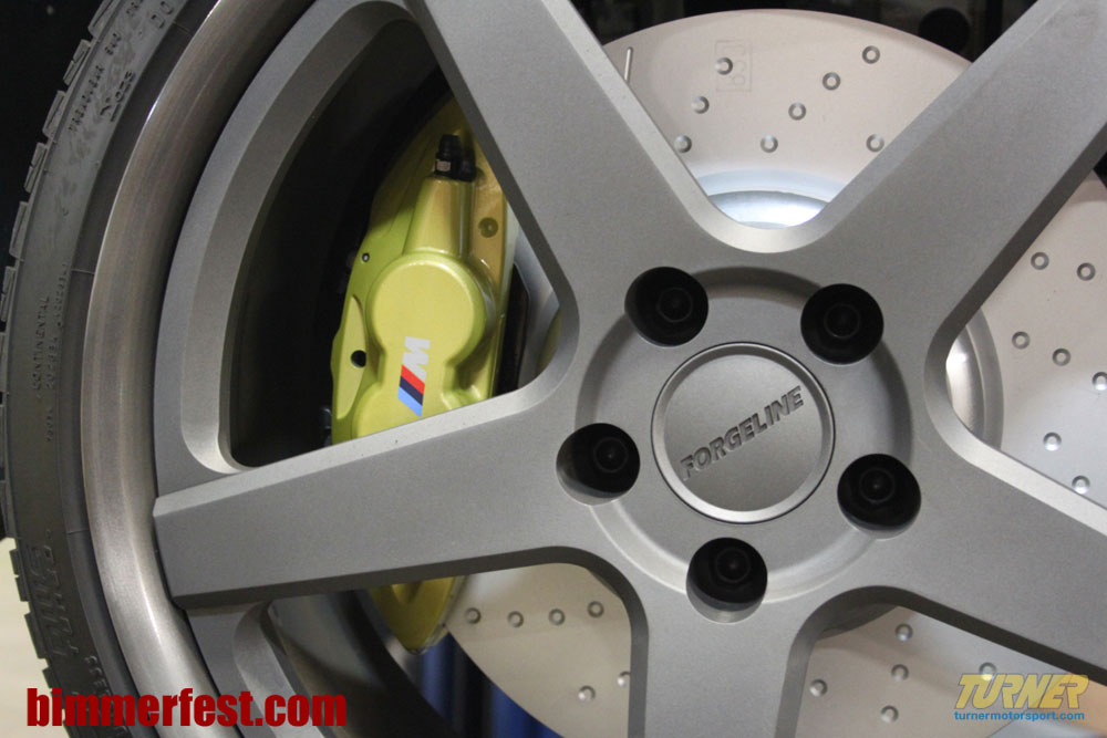 First Set Of M Performance Parts Brakes Installed On TMSs I - 2011 bmw 335i performance upgrades