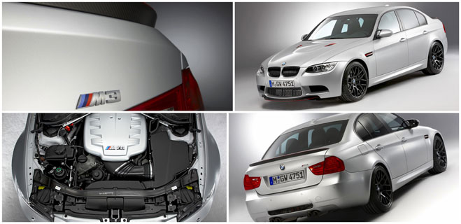 The BMW M3 CRT - Intelligent Lightweight Design for Even Higher Performance