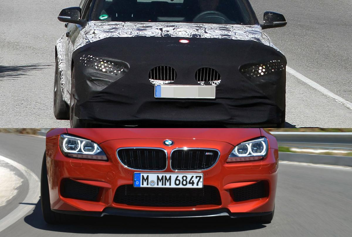 F80 M3 Front Bumper Revealed M6 Style Bumper For The New M3